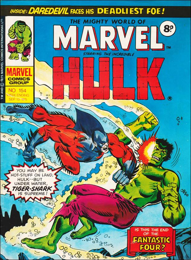 Mighty World of Marvel (UK) (1972) 154-A by Marvel UK
