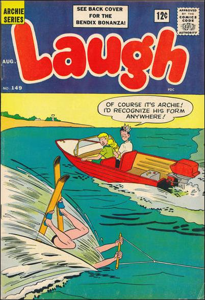 Laugh Comics (1946) 149-A by Archie