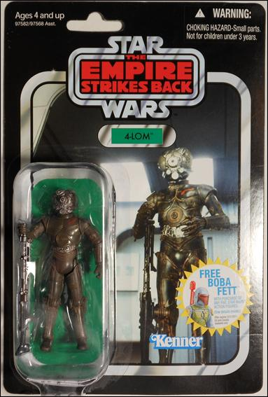 "Star Wars: Vintage Collection 3 3/4"" Figures 4-LOM by Hasbro"