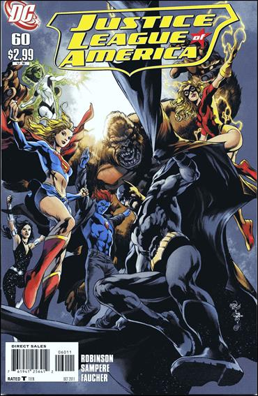 Justice League of America (2006) 60-A by DC
