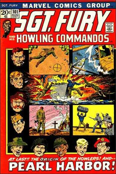 Sgt. Fury and His Howling Commandos 101-A by Marvel