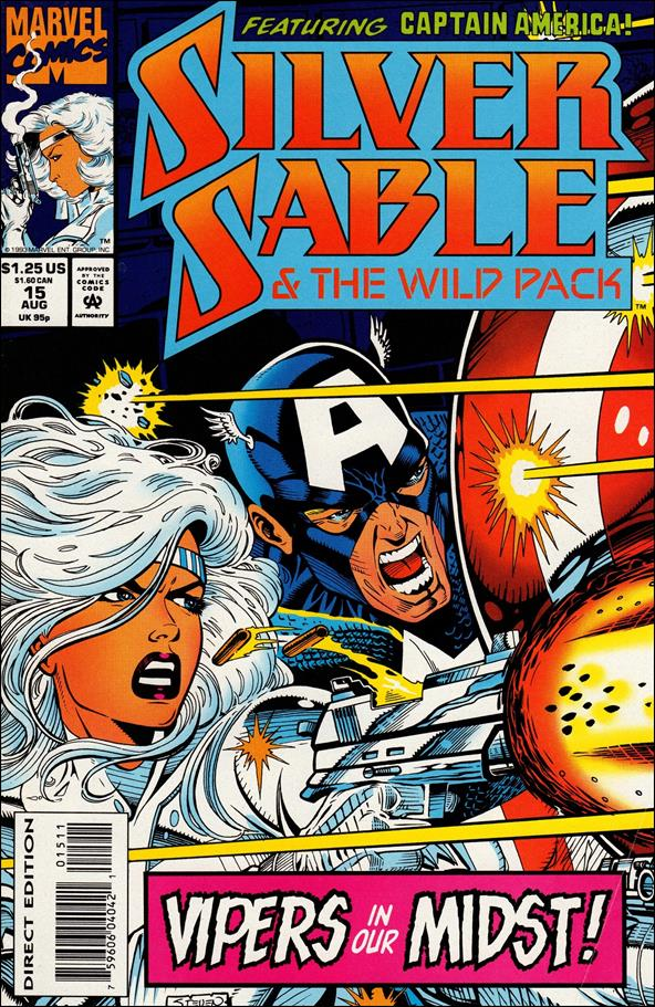 Silver Sable & The Wild Pack 15-A by Marvel