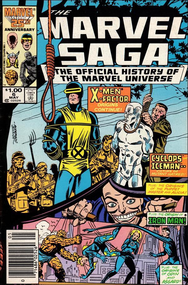 Marvel Saga 6-A by Marvel