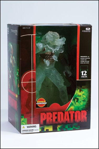 Alien and Predator (Super-Sized) Edition Stealth Predator (12 Inch) by McFarlane Toys