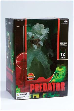 Alien and Predator (Super-Sized) Edition Stealth Predator (12 Inch)