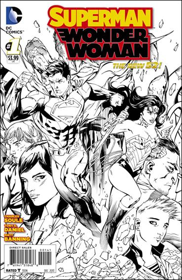 Superman/Wonder Woman 1-F by DC