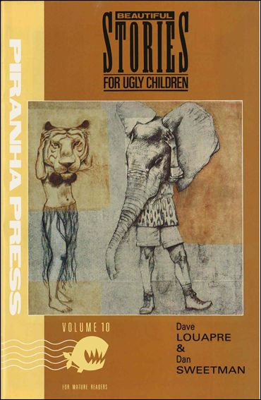Beautiful Stories for Ugly Children 10-A by Piranha Press