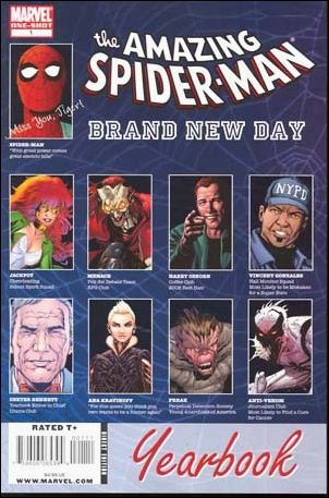 Spider-Man: Brand New Day Yearbook 1-A by Marvel