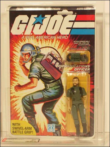 "G.I. Joe: A Real American Hero 3 3/4"" Basic Action Figures Breaker (Communications Officer) Swivel Arm by Hasbro"