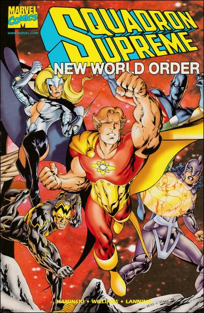 Squadron Supreme: New World Order 1-A by Marvel