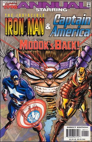 Iron Man Annual 1998-A by Marvel