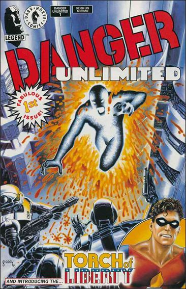 Danger Unlimited 1-A by Dark Horse