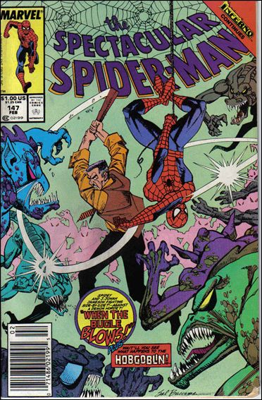 Spectacular Spider-Man (1976) 147-A by Marvel