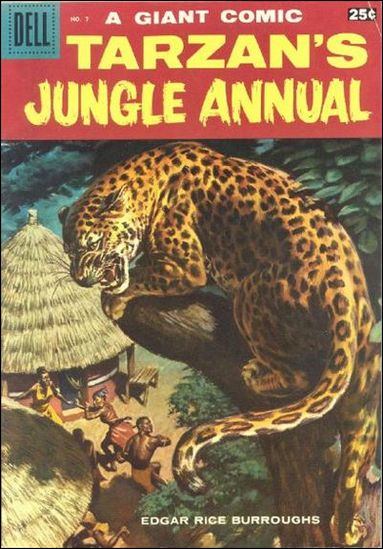Tarzan's Jungle Annual 7-A by Dell