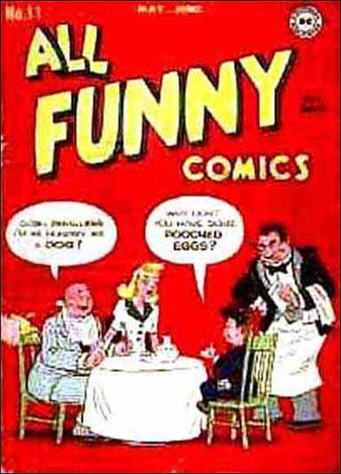 All Funny Comics 11-A by DC