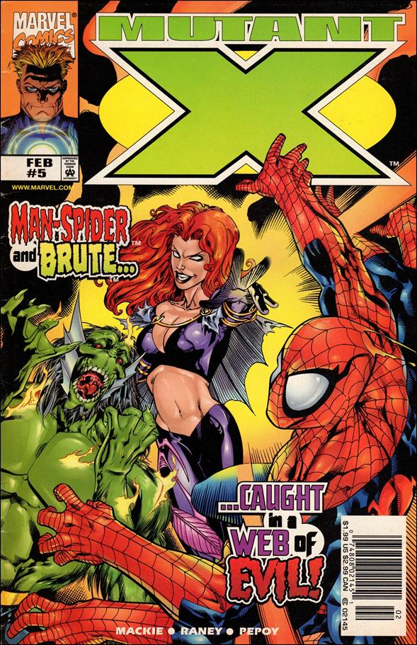 Mutant X 5-A by Marvel