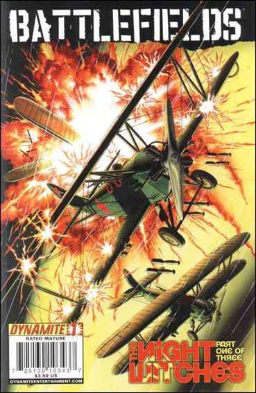 Battlefields: The Night Witches 1-A by Dynamite Entertainment