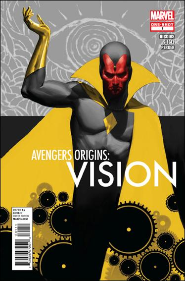 Avengers Origins: Vision 1-A by Marvel