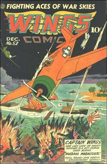 Wings Comics (1940) 52-A by Fiction House Magazines