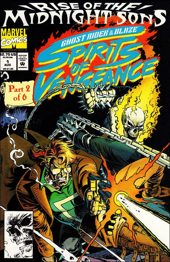 Ghost Rider/Blaze: Spirits of Vengeance 1-A by Marvel