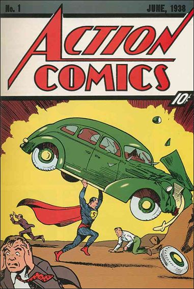 Action Comics (1938) 1-A by DC