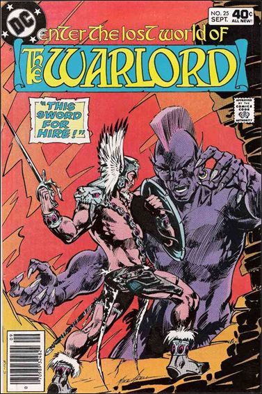 Warlord (1976) 25-A by DC