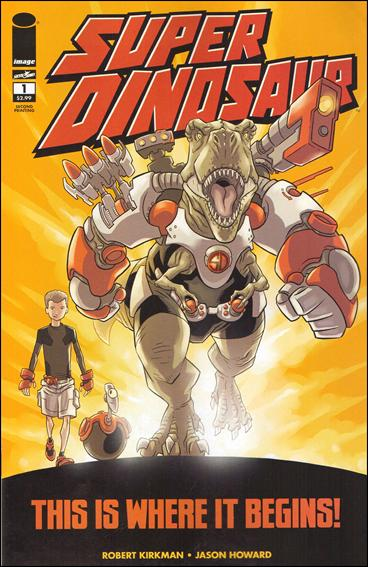 Super Dinosaur 1-B by Skybound Entertainment