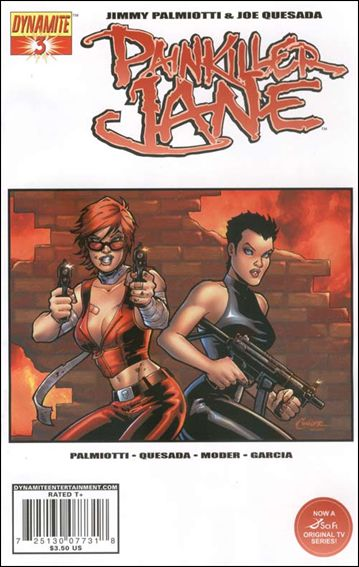 Painkiller Jane (2007) 3-A by Dynamite Entertainment