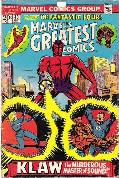 Marvel's Greatest Comics 43-A by Marvel