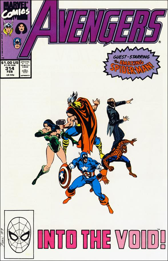 Avengers (1963) 314-A by Marvel