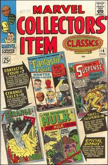 Marvel Collectors' Item Classics 4-A by Marvel
