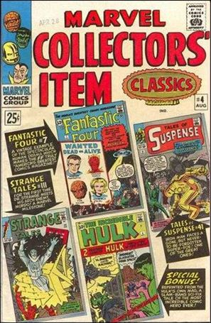 Marvel Collectors' Item Classics 4-A