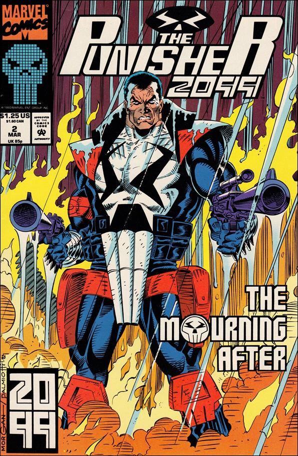 Punisher 2099 (1993) 2-A by Marvel