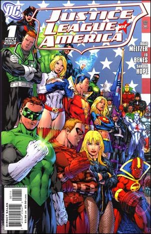 Justice League of America (2006) 1-A by DC
