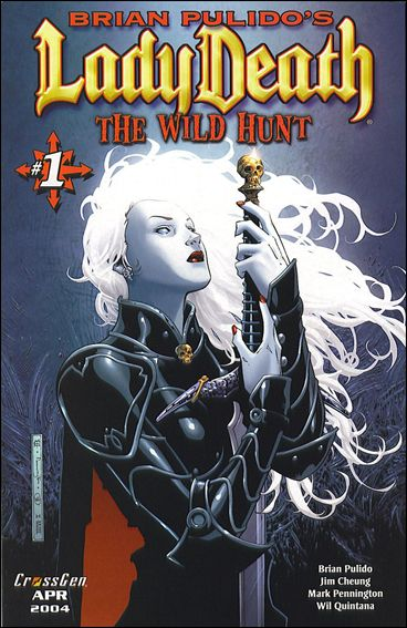 Brian Pulido's Lady Death: The Wild Hunt 1-A by CrossGen
