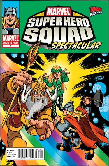 Marvel Super Hero Squad Spectacular 1-A by Marvel
