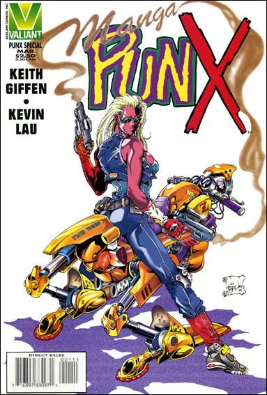 Manga PunX 1-A by Valiant