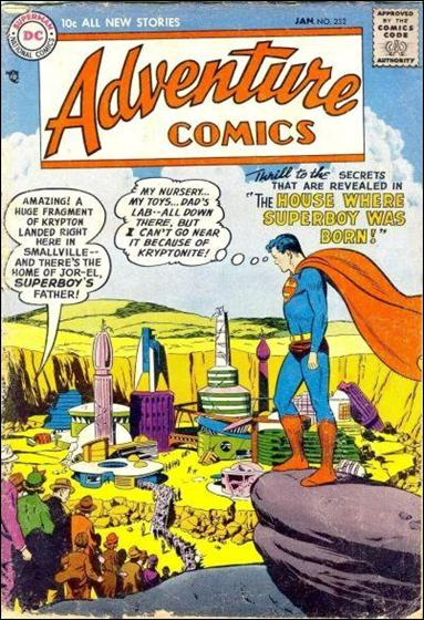 Adventure Comics (1938) 232-A by DC