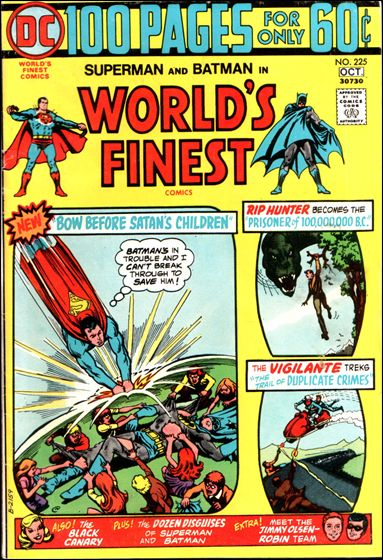 World's Finest Comics 225-A by DC