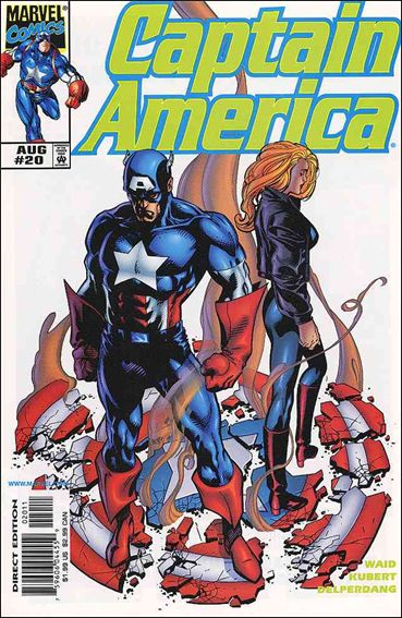 Captain America (1998) 20-A by Marvel