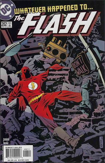 Flash (1987) 202-A by DC