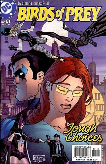 Birds of Prey (1999) 61-A by DC