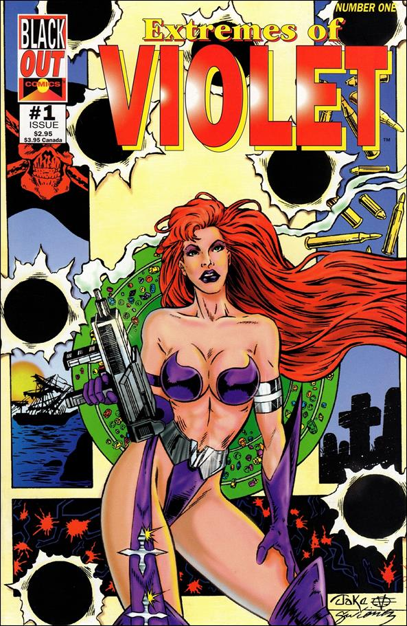 Extremes of Violet 1-A by Blackout Comics