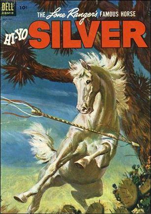 Lone Ranger's Famous Horse Hi-Yo Silver 8-A