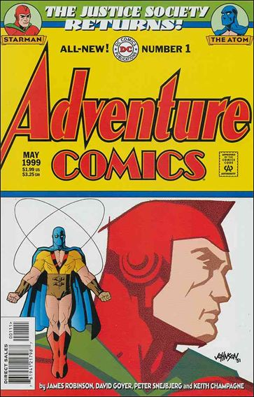 Adventure Comics (1999) 1-A by DC