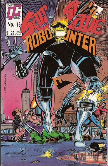 Sam Slade Robo Hunter 16-A by Quality Comics
