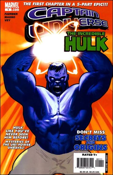 Captain Universe/Hulk 1-A by Marvel