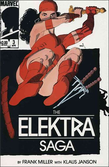 Elektra Saga 3-A by Marvel