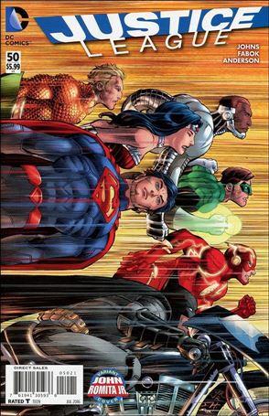 Justice League (2011) 50-B