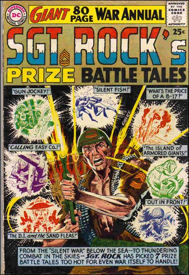 Sgt. Rock's Prize Battle Tales 1-A by DC